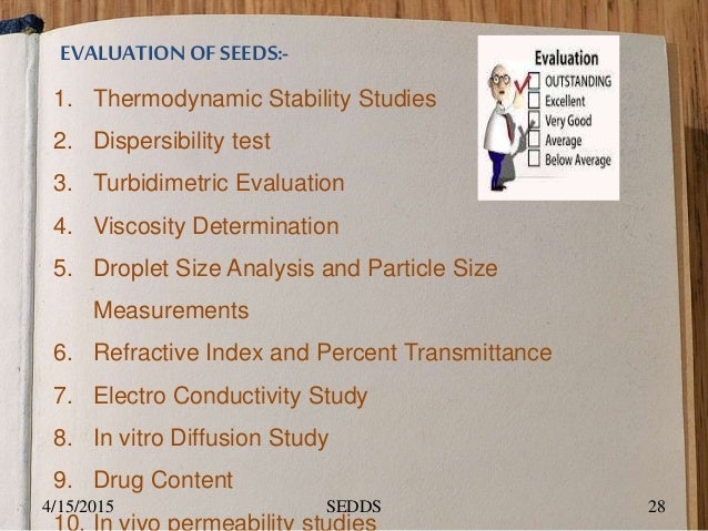 Stability study of microemulsion