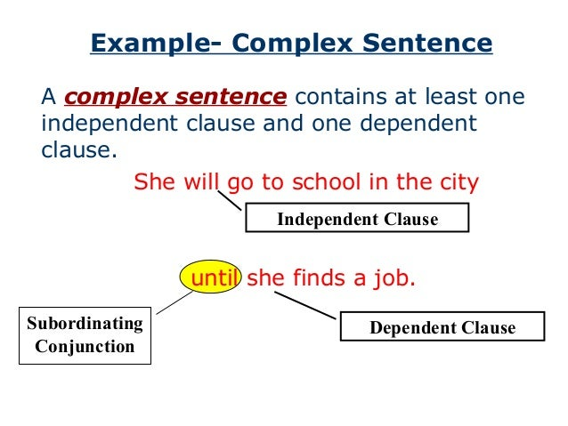 varying sentence structure