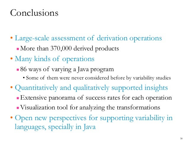 Assessing Product Line Derivation Operators Applied to Java Source Co…