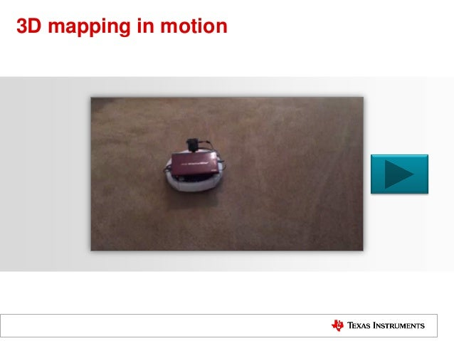 3D mapping in motion