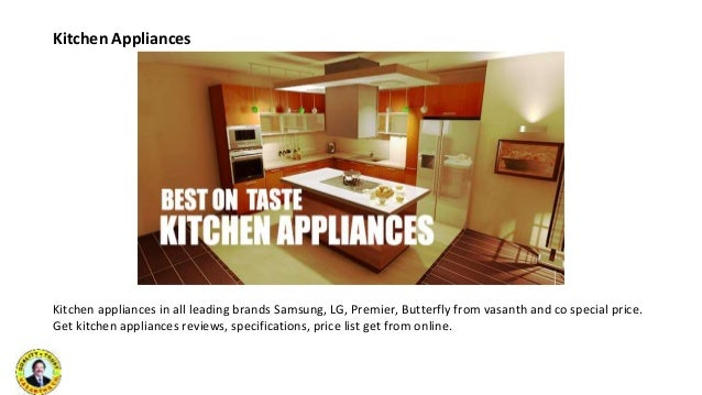 Kitchen Appliances ...