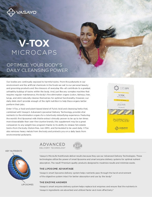 Vasayo V-Tox Microlife Detox Cleanse Review