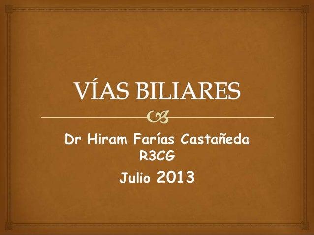 Dr Hiram Farías Castañeda R3CG Julio 2013
