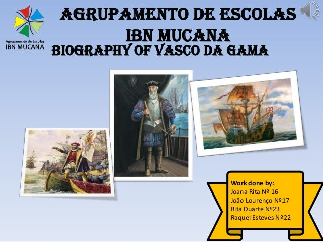 vasco da gama biography