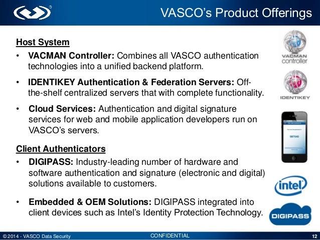 Vasco Investor Presentation