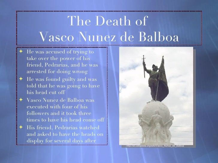 vasco nunez de balboa death