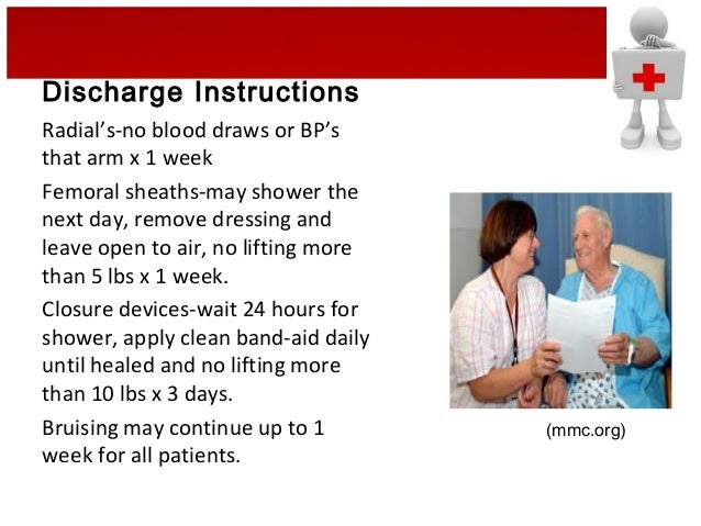 Transradial access staff training and patient discharge | daic.