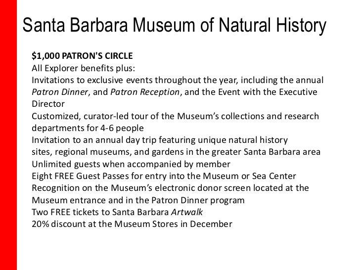 Santa Barbara Natural History Museum Membership