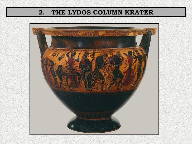 2.  THE LYDOS COLUMN KRATER