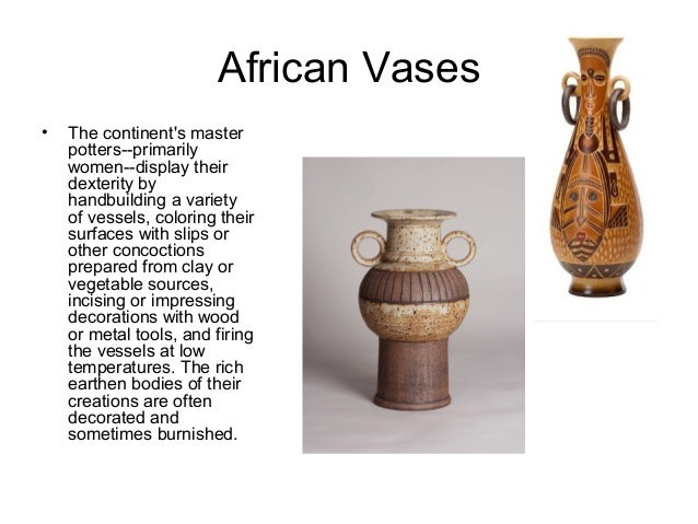 Vases From Around The World