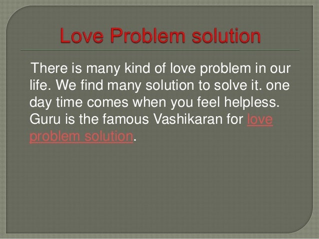 Vashikaran is the source of control someone's body and overall of mind of another person. Through vashikaran we can get ex...