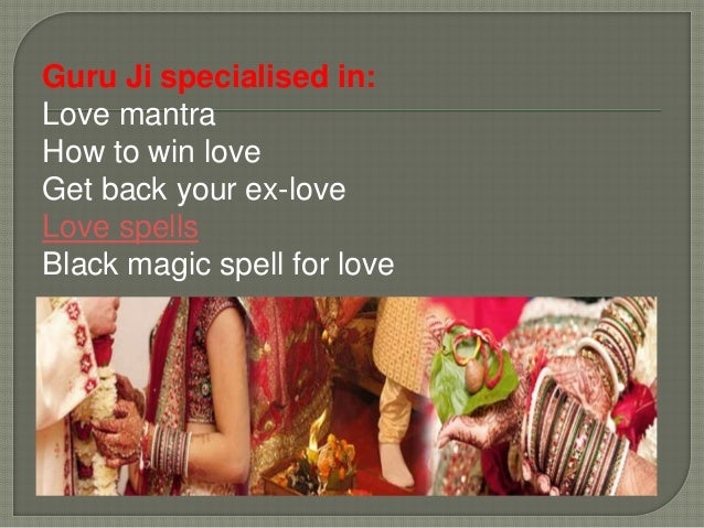 Guru ji is the love expert he knows very well how to win love through vashikaran. You don't need to do a lots of efforts t...