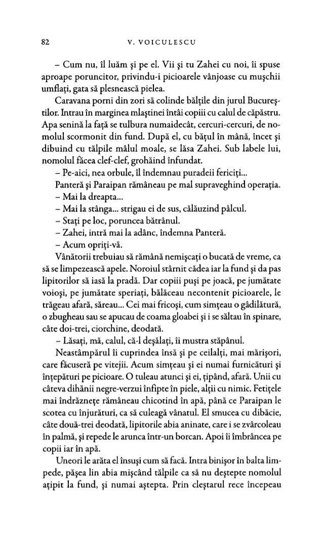 Vasile voiculescu  -zahei orbul