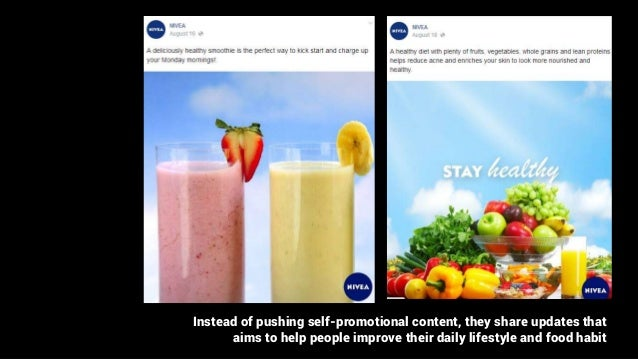 Instead of pushing self-promotional content, they share updates that aims to help people improve their daily lifestyle and...