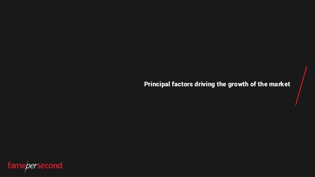 Principal factors driving the growth of the market