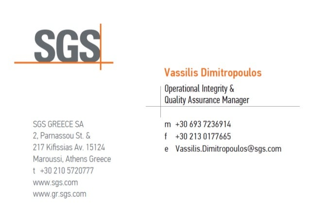 Vassilis dimitropoulos sgs business card reheart Image collections
