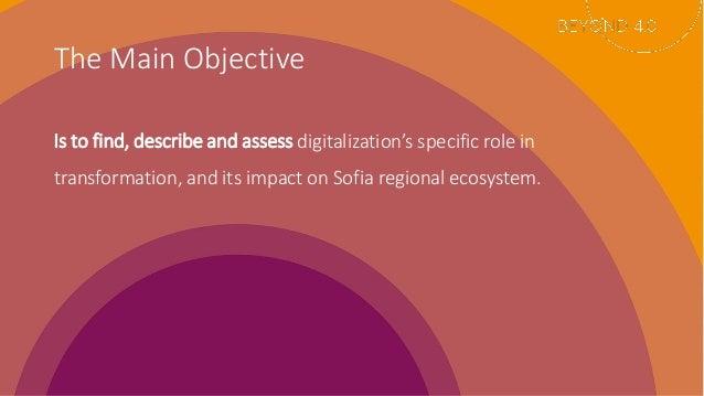 How Digital Transformations Impact Regional Ecosystem: The Case of Sofia Slide 2