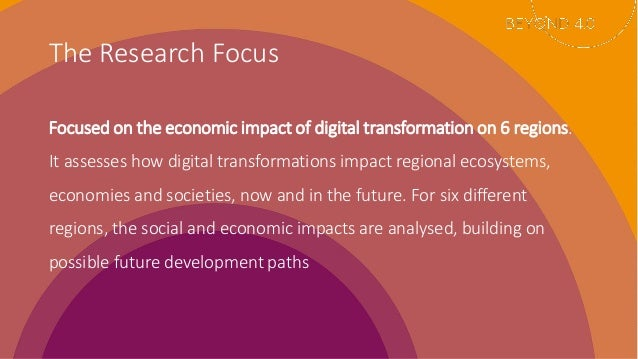 How Digital Transformations Impact Regional Ecosystem: The Case of Sofia Slide 3