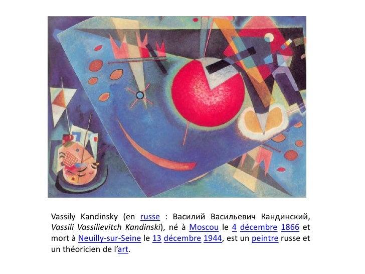 Vassily kandinsky Slide 2