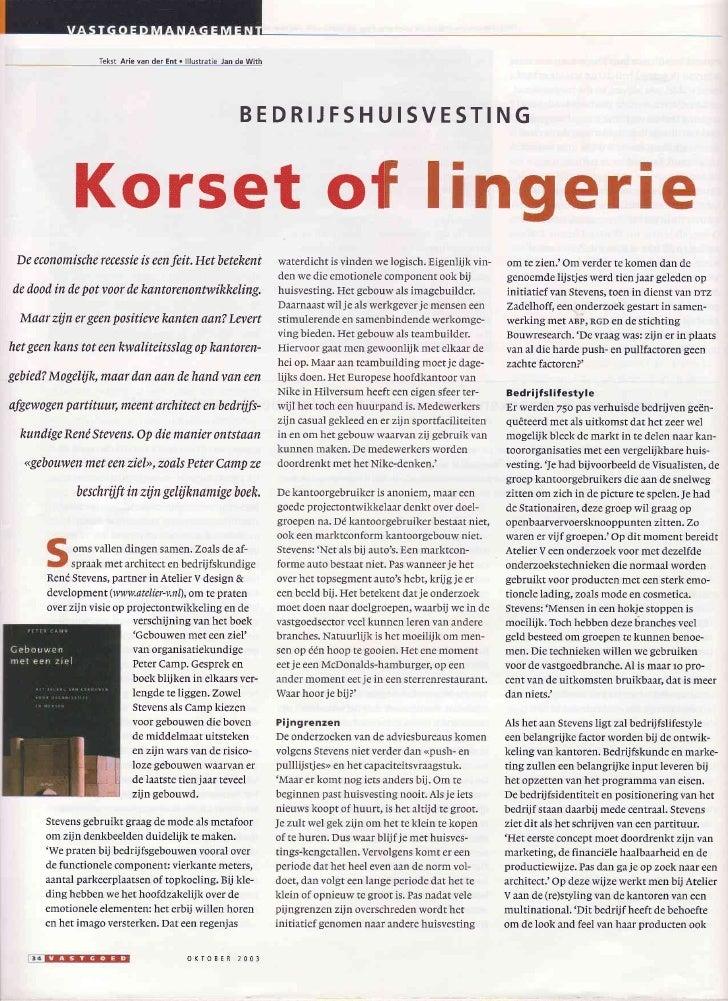 Tekst Arie van der Ent . lllustrêtie Jan de With                                                               BEDRIJFSHUI...