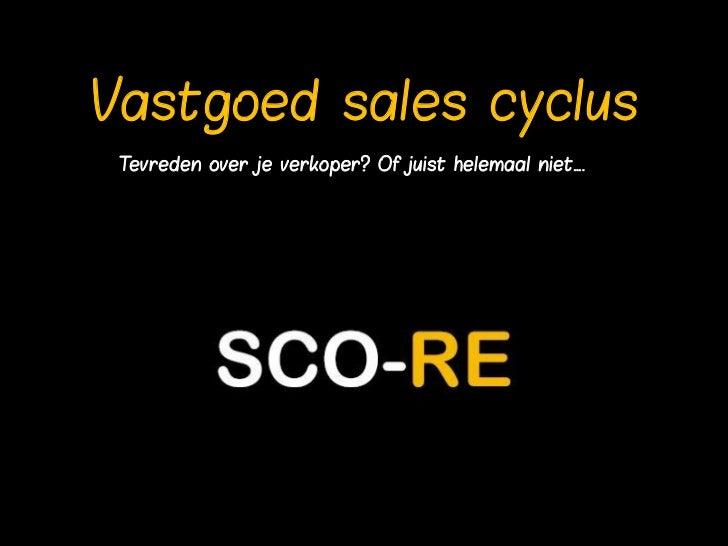 Vastgoed sales cyclus Tevreden over je verkoper? Of juist helemaal niet….