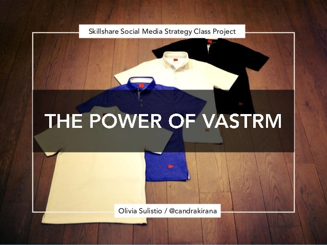 Skillshare Social Media Strategy Class Project         Olivia Sulistio / @candrakirana