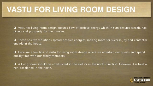 Living Room Vastu vastu for living room design