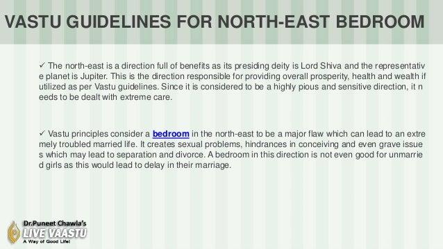 Vastu Guidelines For Northeast Bedroom Vastu