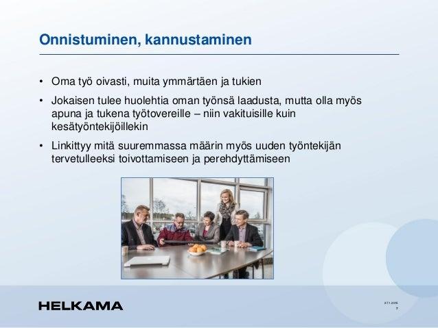 Vastuullisuus yritysarvoissa ja kesätyönantajana - Satu Helkama /Vast…