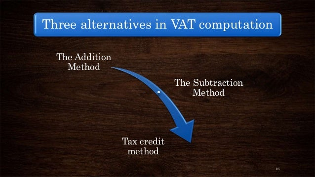 value added tax Value added tax (vat)-value added tax (vat) intended for countries and  regions  where the item price is displayed along with its respective tax amount  added.