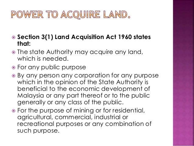 Land Acquisition