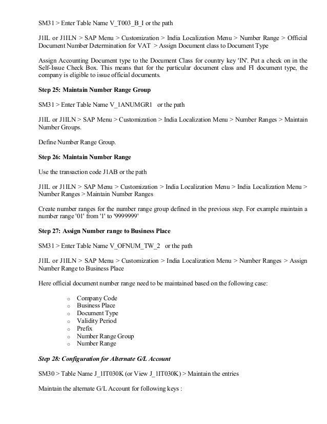 VAT configuration for TAXINN