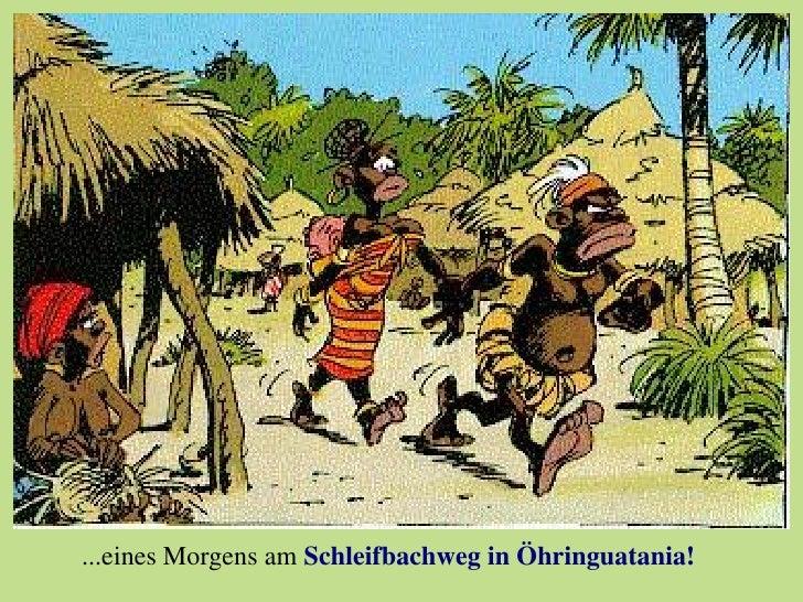 ...eines Morgens am Schleifbachweg in Öhringuatania!