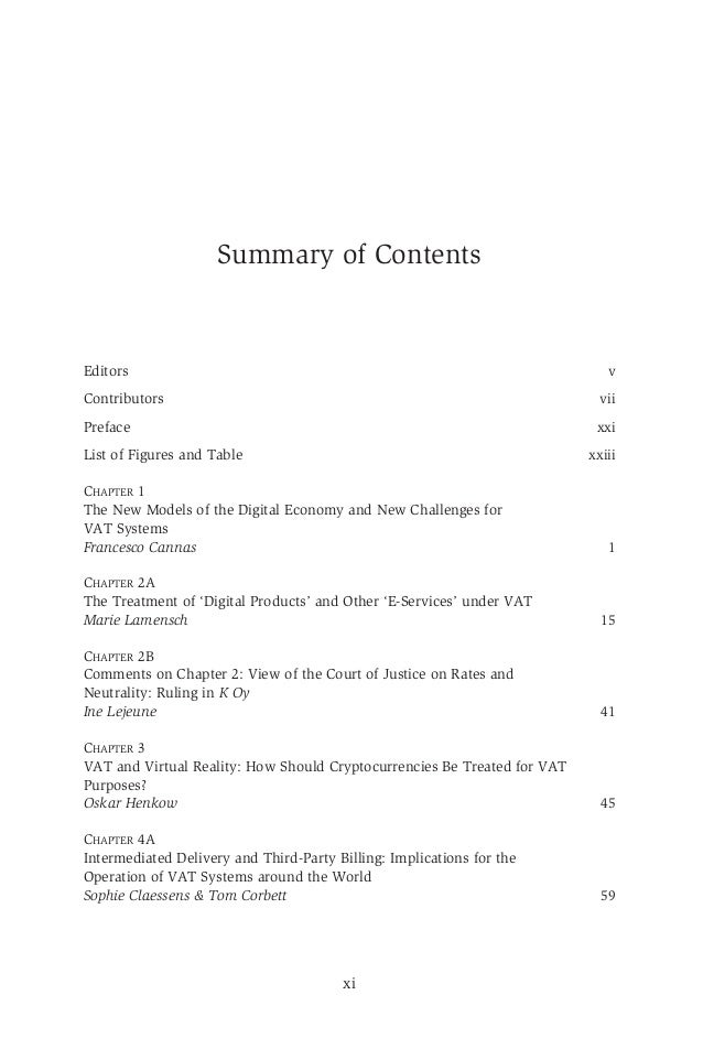 Vat gst in a global digital economy chapter 9conclusions the fut 9 fandeluxe Gallery