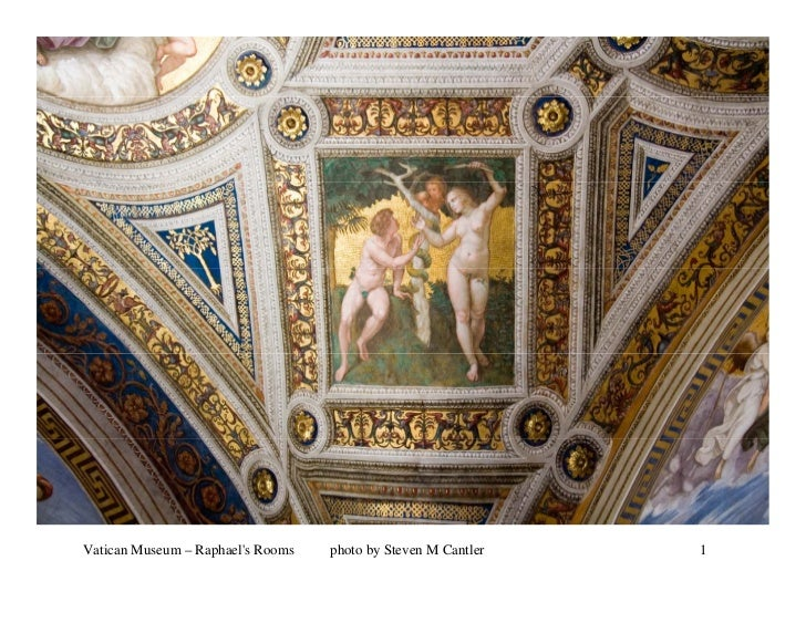 Vatican Museum – Raphaels Rooms   photo by Steven M Cantler   1