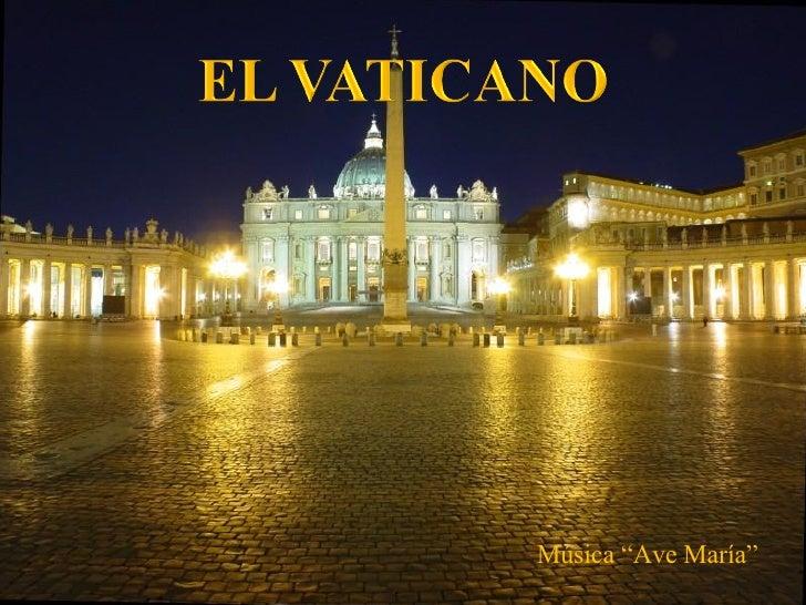 """Música """"Ave María"""""""