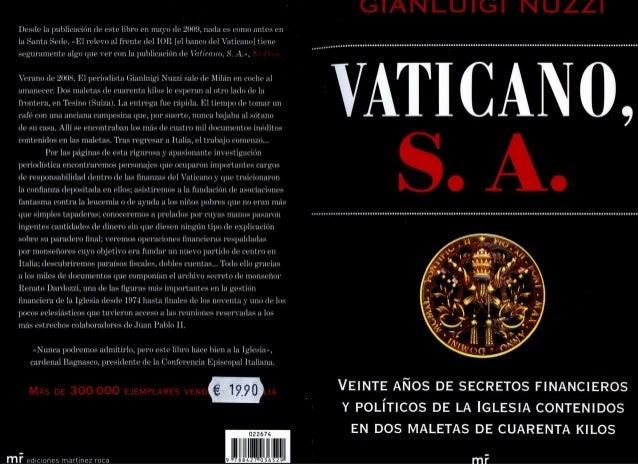 Vaticano S.A. - Gianluigi Nuzzi