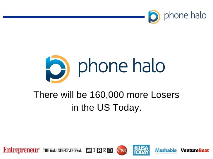There will be 160,000 more Losers in the US Today.