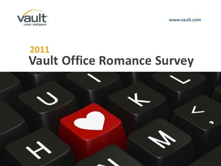 www.vault.com<br />2011<br />Vault Office Romance Survey<br />ABOUT US<br />AUDIENCE<br />PRODUCTS & SERVICES<br />