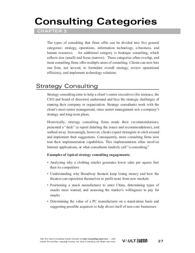 boutique consulting firm cover letter As a former mckinsey resume screener, i've read a lot of consulting cover letters for consulting roles of all types most applicants severely under-estimat.
