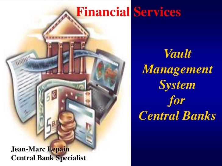 Financial Services                                 Vault                             Management                           ...