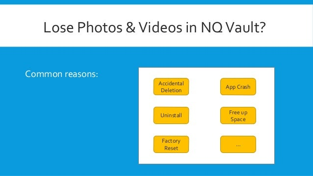 How to Recover Hidden or Deleted Photos from NQ Vault App