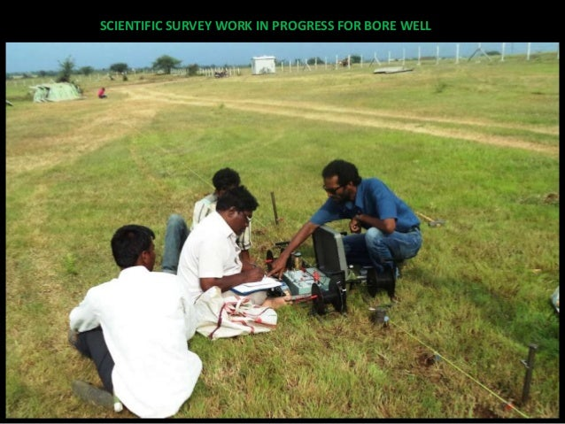 FINDING POINT FOR BORE WELL USING SCIENTIFIC & DIVINING