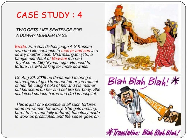 CASE STUDY : 4 TWO GETS LIFE SENTENCE FOR A DOWRY MURDER CASE Erode: Principal district judge A.S Kannan awarded life sent...