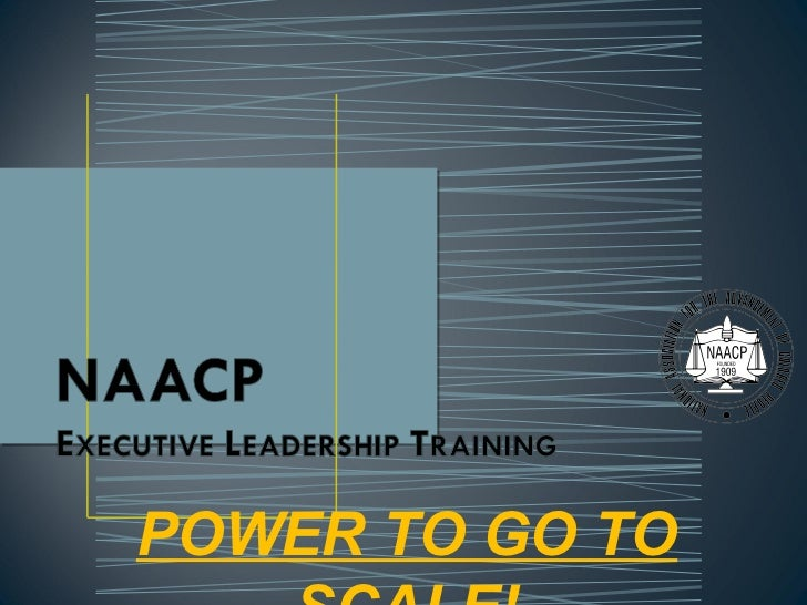 Vaycd Naacp College Chapter Executive Leadership Training