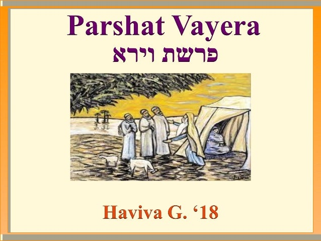 Avraham was sitting in his tent on the third day   after his brit milah, when three angels of      Hashem who were disguis...
