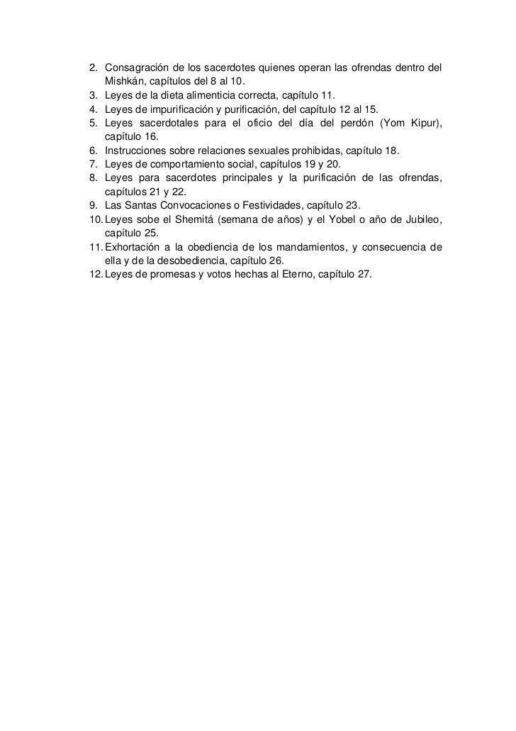 Libro de Vayikra (Levítico) Slide 3