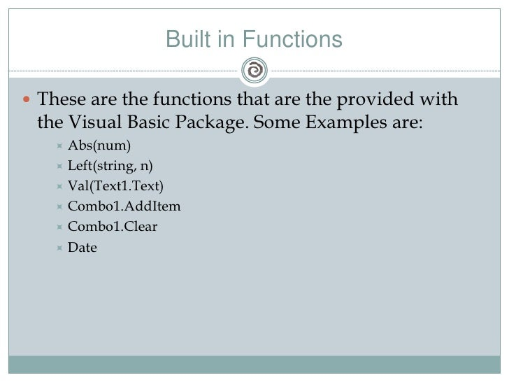 vb net 2008 tutorial for beginners with examples pdf