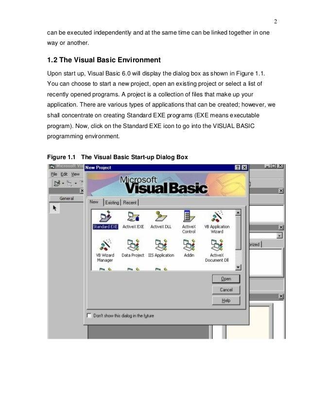 Fantastic Visual Basic 6 Resume Next Photo - Examples Professional ...