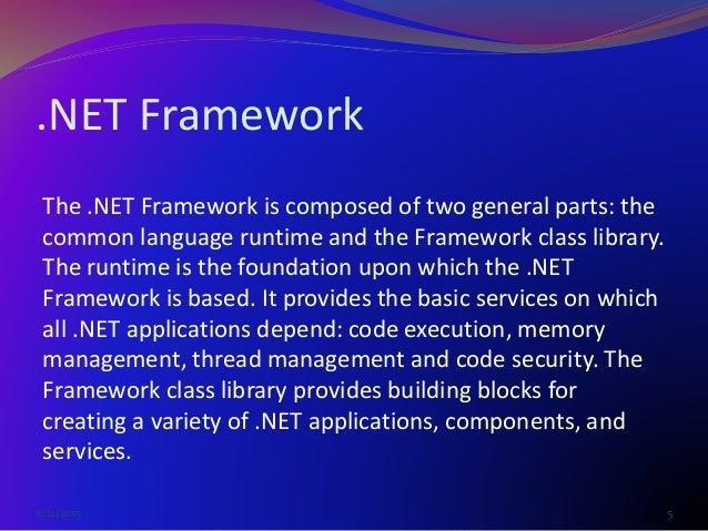 Vb6 vs vb net    (visual basic) presentation